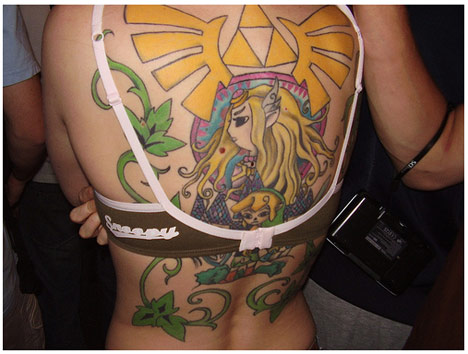 Too many girls getting Zelda tattoos. Well, any tattoo is pretty bad,