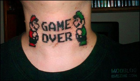 Because nobody asked for it…bad gamer tattoos!