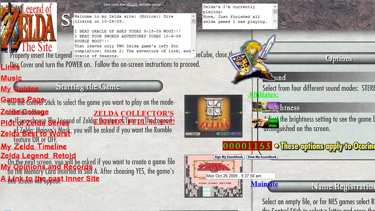Classic Geocities Design
