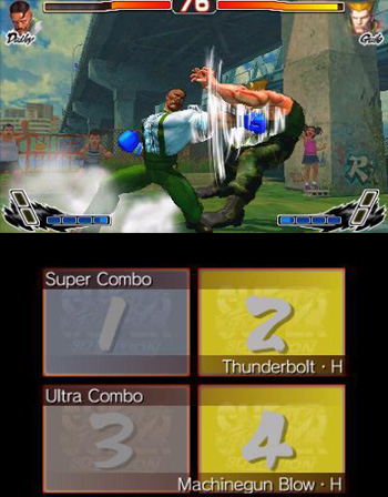 Super Street Fighter 4 3DS