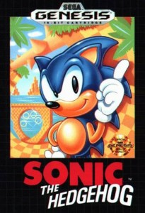 Sonic the Hedgehog box art