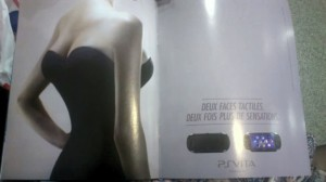 Sony Vita Ad with 4 breasts